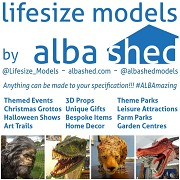 Lifesize Models by Alba Shed: Exhibiting at Leisure and Hospitality World